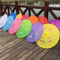 الكبار الحجم اليابانية الصينية الشرقية المظلة النسيج اليدوي مظلة للحصول على حفل زفاف التصوير الفوتوغرافي الديكور الدعائم مظلة SN335
