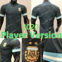 20 21 Argentina Player versione calcio maglia casa lontano squadra nazionale di Messi Dybala 2020 2021 di calcio della camicia Player