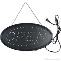Abra o sinal LED, LED negócio sinal aberto placa de propaganda sinal de exibição elétrica iluminar sinal piscando luz constante para paredes de negócios