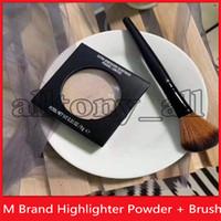 2020 de haute qualité M Marque Maquillage surligneurs avec un pinceau de maquillage supplémentaire Dimension Skinfinish Lumiere avec l'expédition Poudre dhl