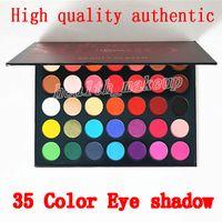 Maquiagem Beleza Glazed Eyeshadow Palette 35 Color sombra de olho shimmer fosco maquiagem sombra Color Studio paleta Marca Cosméticos DHL