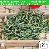 thé vert porcelaine Queshe bon thé Zhuyeqing Thé vert biologique (feuille de bambou) bonne boisson Livraison gratuite