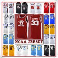 NCCA 저지 Kawhi Leonard James Iverson Men 23 Lebron Durant 13 Harden Curry Stephen College Basketball Jerseys Russell Westbrook Men20
