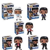 2020 горячий продавать MJ Funko поп-музыки Майкла Джексона ПВХ фигурку Модель 10см куклы лол 5 стиль Розничная и оптовая на продажу