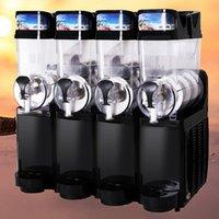 4 Tanks Ice Slush Machine Intelligent temperature control Snow Melting Commercial ice slush machine frozen drink slush