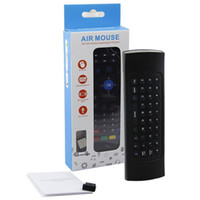 MX3 Wireless Keyboard Air Mouse Remote G Sensing Gyroscope S...