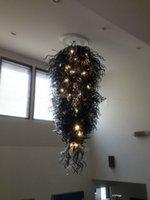 Décoration Pendentif Lampe marocaine Prix Dale Chihuly pas cher style verre soufflé Lustre en cristal
