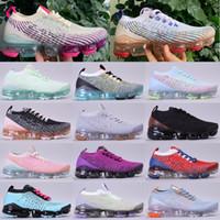 Nueva Llegada Punto 3.0 Mens Designer Zapatillas para correr Mujeres Triple Blanco Negro Gris Azul Rosa Alta Calidad Deporte Deporte Deporte Zapatillas 36-45