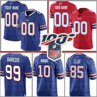 Buffalo Custom Bill Jersey 2 Peterman 95 Williams 78 Smith 10 McCarron 83 Reed 23 Hyde 58 Milano 75 Teller 42 DiMarco Formalar