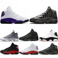 Nike Air Jordan 13 Retro Uomini Scarpe da basket Atmosfera Grigio Cap and Gown He Got Game Phantom OG Black Cat White Scarpe da ginnastica Sport Sneakers all'ingrosso
