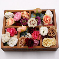10pcs Blooming Peony Silk Artificial Flower Wedding Party Ho...