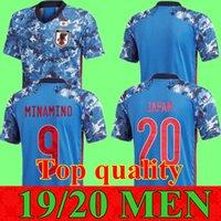 2019 2020 اليابان منزل كرة القدم جيرسي HONDA 19 20 المنتخب الياباني لكرة القدم القميص رقم 10 زي كاغاوا أوكازاكي الرجال لكرة القدم