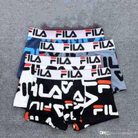 19FW Fashion Printed Cotton Flat Corner Men' s Underwear...