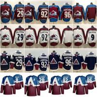 2020 Stadium Series Jersey Colorado Avalanche Hockey 8 Cale Makar 29 Nathan Mackinnon 92 Gabriel Landeskog 96 Mikko Rantanen Navy Borgoña
