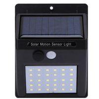 20/30 LED Sensore di movimento PIR a luce solare Luci da giardino solari Illuminazione per esterni Lampada a luce solare da giardino a risparmio energetico