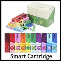 10 gusti per opzione Smart Cart Vape Cartridge 1.0ml Ceramic Coil 510 Thick Oil SmartCarts Vapor Vs Dank Vapes Kingpen Cartucce DHL-1
