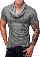Mens Sport Desinger T-shirts ras du cou court Solide Couleur Refroidir Homme Vêtements Fashion Style Vêtements décontractés