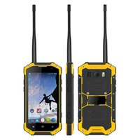 Uniwa W3 4,7 pouces Écran IP68 Imperméable UHF / VHF Walkie Talkie Smartphone robuste avec baromètre NFC