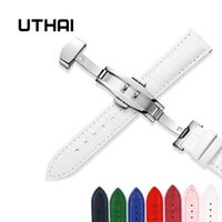UTHAI Z09 plus Genuine Leather Watchbands 12- 24mm Universal ...