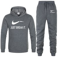 Autumn winter Tracksuit Men Woman Casual Sportswear Suits Me...