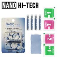 Protector de pantalla de Technology Nano Technology 1ML para iPhone 7 8 x Samsung 3D Curved Edge Anti Rasghe Tempered Glass Film