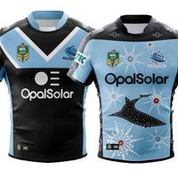 e5f80b9a46c 2018 2019 new CRONULLA SHARKS rugby Jerseys home away ALTERNATE Rugby  League nrl Jersey Australia Cronulla Sharks shirt s-3xl