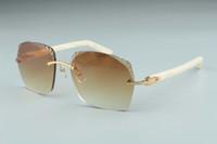2019 Hot vente récent de style exquis 3524018 microlentilles coupe des lunettes de soleil, des temples aztèques naturels verres, taille: 18-135mm