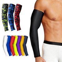 1pcs التنفس السريع جاف حماية الأشعة فوق البنفسجية تشغيل أكمام ذراع كرة السلة وسادة اللياقة البدنية