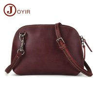 New casual retro leather ladies cross- body bag European and ...