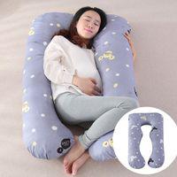 Hamile Kadınlar için uyku Desteği Yastık Vücut U Şekli Analık Yastık Gebelik Yan Uyuyan Annelik Göbek Konturlu Vücut U