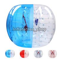 Ücretsiz kargo! Fabrika fiyatı ! Ucuz 1 m Zorb Topu, İnsan Kabarcık Futbol Takım, Çocuklar Için Şişme Tampon Topu