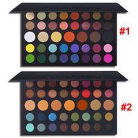 Güzellik UCANBE Göz Farı Makyaj Paleti Fantezi 39 Renkler Nü Mat Işıltılı yüksek pigmentli Tunç Nötr Dumanlı Vurgulayıcı Kozmetik