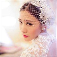 Ea gaze véu véu cocar headdress estilo cabeça flor flor coreana fone de ouvido feito sob encomenda acessórios de cabelo