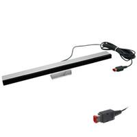 Wii Sensörü Için Yoteen Kablolu Hareket Sensörleri Nintendo Wii / WiiU Için Alıcıları ABS Bar