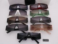 4360 النظارات الشمسية الفاخرة للرجال تصميم الأزياء الطيار حركة الإطار الكامل uv400 uv حماية عدسة steampunk الصيف ساحة ستايل