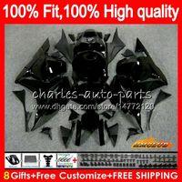Injection OEM Pour noir HONDA CBR 600RR brillant CBR600RR 600F5 600CC 74HC.54 CBR 600 RR F5 09 10 11 12 CBR600 RR 2009 2010 2011 2012 Carénage