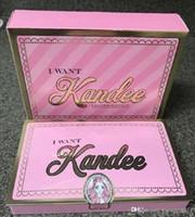 Marque de haute qualité Je veux Kandee Eyeshadow Palatte Je veux Kandee Limited Edition CANDY FAUTEUIL DES YEUX PALETTE 15 couleurs Eyeshadow Palatte