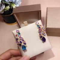 luxury Designer Earrings jewelry colorful Inspirations S925 ...