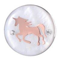 10шт 18 мм розовый цвет имбирь Оснастки кнопки лошадь котенок слон форма сердца Жемчужина оснастки подвески для женщин ювелирные изделия VN-2108*10