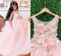 Flower Girl Dresses for Weddings Flowergirls First Communion Dresses Girls Pageant Dresses for Little Girls Glitz