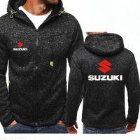 Новая осень и зима весна бренд Suzuki толстовка Мужские толстовки пальто мужская спортивная одежда Одежда с капюшоном куртки
