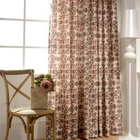 Modern Minimalist Curtains for Living Room Polyester Cotton ...