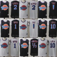 Tune Squad Space Jam Movie Jersey 1 Bugs Bunny 2 Daffy Duck 1 3 Tweety Bird 10 Lola Bunny Camisetas de baloncesto