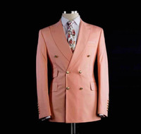 Fashion Peaked Lapel Mens Jacket Coat Wedding Groom Tuxedos ...