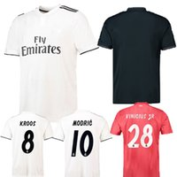 Top Quality Real Madrid Kids Soccer Jersey Moisture Wicking ...