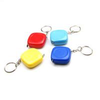 Yenilikçi Öğeler Dazzle Renk Mini Yuvarlak Paslanmaz Çelik Ölçüm Bandı (100 cm) Mezura Ölçme Esnek Kural Bant