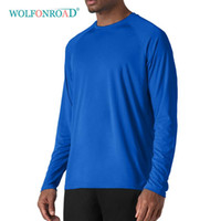 WOLFONROAD Outdoor UPF 50+ Fast Drying Men' s Long Sleev...