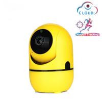 Câmeras de IP 1080P Tuya Smart Automatic Rastreamento Home Security Surveilância Indoor WIFI WIFI Camera Monitor de Bebê