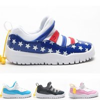 Big Kids 11s Sneakers Little Boys Flex Kaws Trainers Toddler...