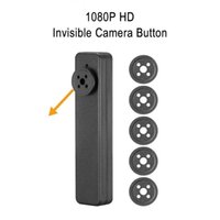 32 GB de memoria incorporada de 1080P mini bolsillo usable bolsillo botón de la cámara Mini DV videocámara de la cámara de seguridad DVR Video Recorder PQ525